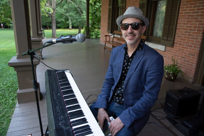 """Matthew Ball, aka """"The Boogie-Woogie Kid,"""" will return to Spiegel Grove this summer to perform one of the popular Verandah Concerts."""