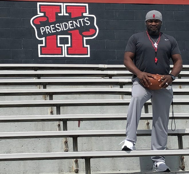 Marion Harding recently hired Demetrius Ross as its next head football coach. Ross will also work as an attendance advocate for Marion City Schools.