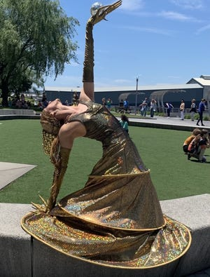 Art of Motion Dance Theatre will perform 5 p.m. Friday at Spring Avenue and Hunham Trail in Ridgewood.