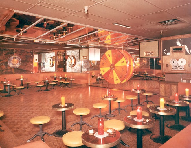 The interior of Herb's Underground is shown in this undated photo.