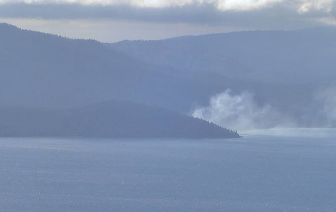 A 2- to 3-acre fire at North Lake Tahoe has closed Highway 89, according to a social media post by North Tahoe Fire Protection District June 9, 2021.