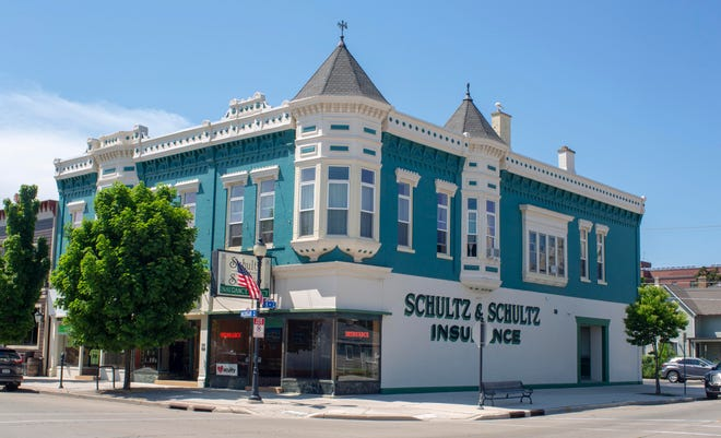 In a letter sent to clients of Schultz and Schultz Insurance said that the company is joining forces with Ansay and Associates. Here is the firm on Michigan Avenue as seen, Tuesday, June 8, 2021, in Sheboygan, Wis.