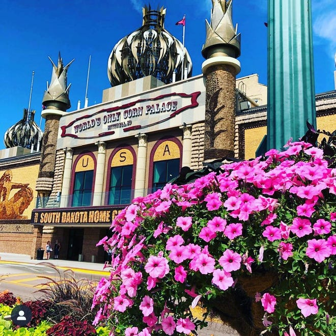 The World's Only Corn Palace in Mitchell, South Dakota.