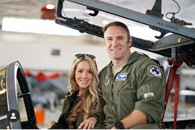 """Lt. Col Billy """"Taz"""" Sullivan of the 144th Fighter Wing was identified as the victim of a deadly plane crash at the Porterville Municipal Airport on Monday."""