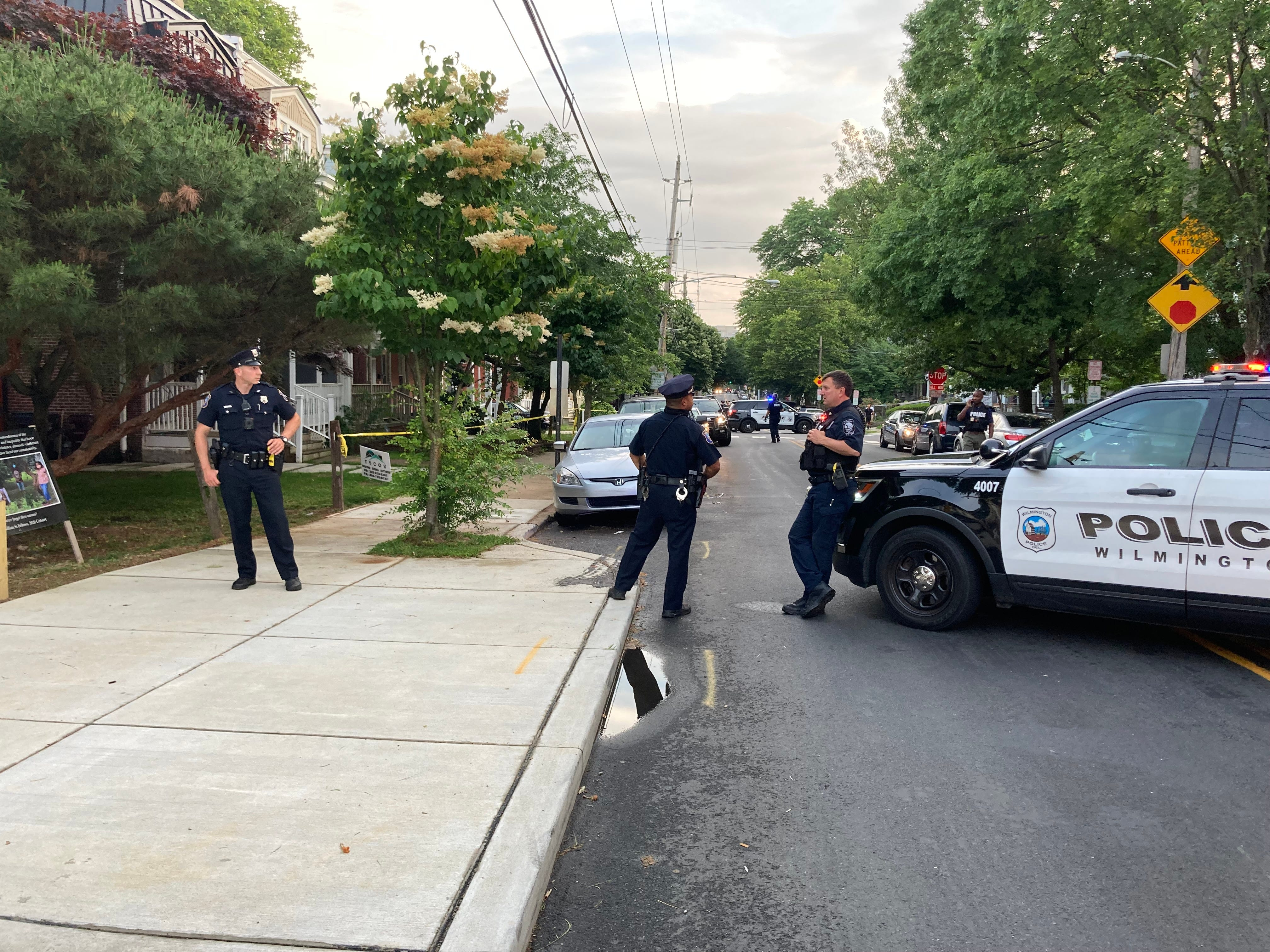 Double shooting Tuesday night makes 9 shooting victims in 8 days in Wilmington