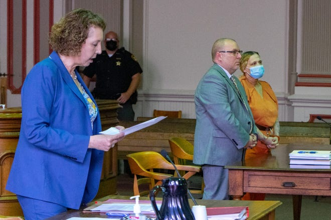 Accused of allowing drugs to be dealt from her home on Brighton Boulevard, Vada McQueary pleads guilty to three felonies in common pleas court Wednesday.