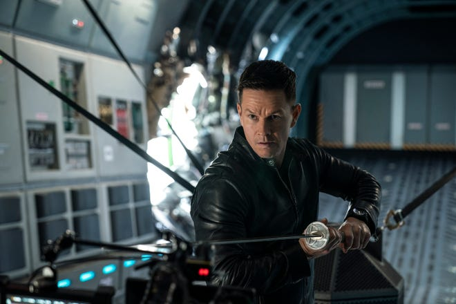 """Mark Wahlberg is a sword-wielding warrior whose lived many lives and has to save the world in """"Infinite."""""""