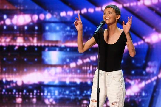 """America's Got Talent"" Season 16 contestant: Nightbirde."