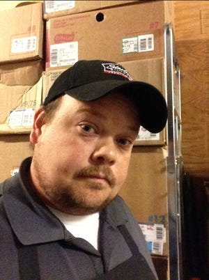 """Brandon Bentz, of Wichita, Kansas, sells tortillas to grocery retailers. He wants to avoid talking about politics at work. """"I was hoping for more unity after things open up."""""""