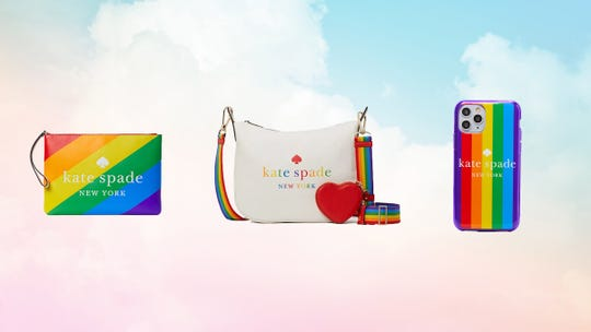 Celebrate Pride Month 2021 with the Kate Spade rainbow collection, on sale today only.