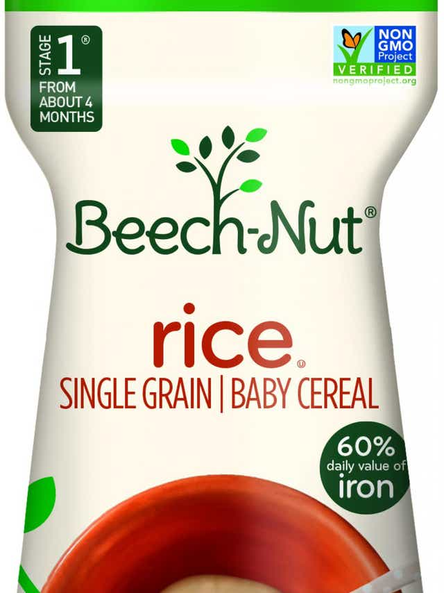 Beech-Nut is recalling a lot of its single-grain rice but also announced it will stop selling the product.