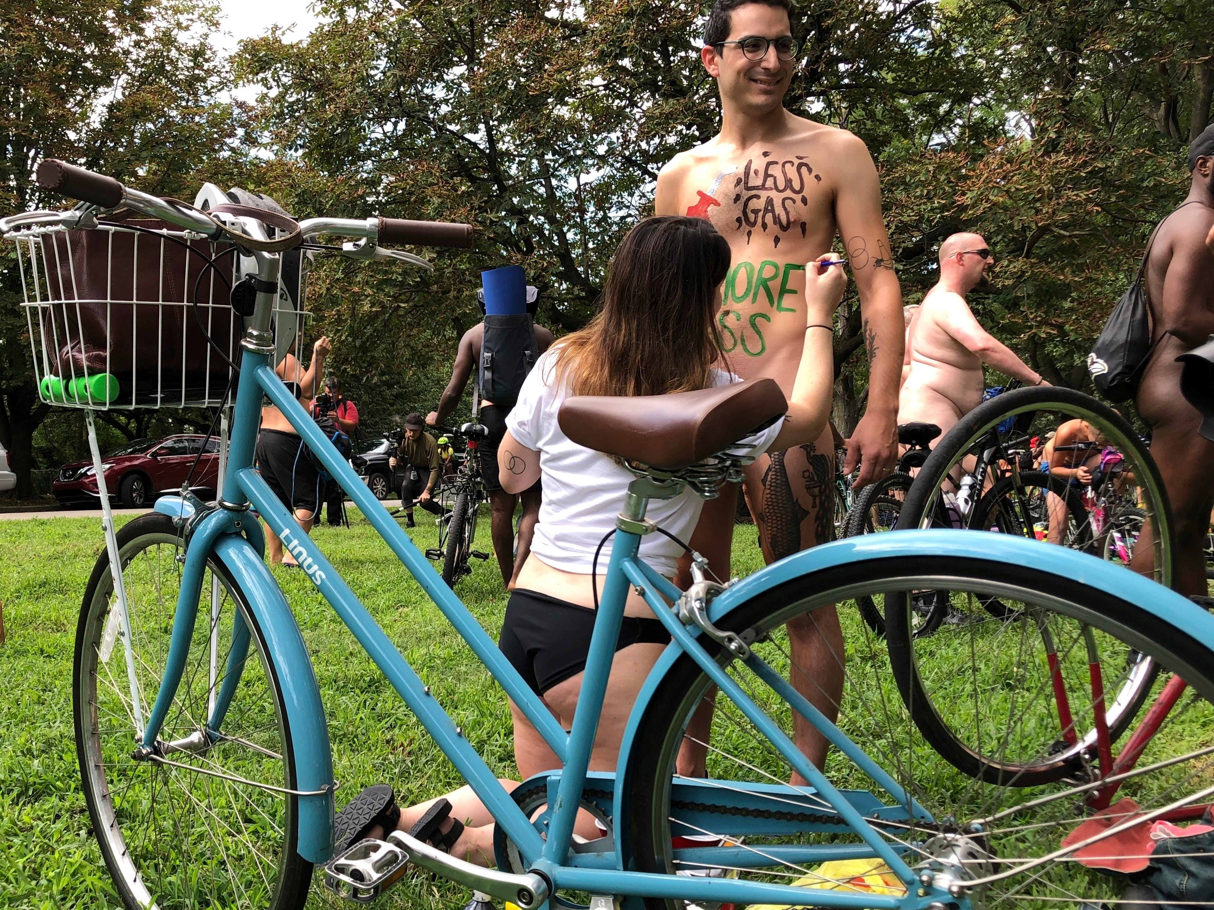 Naked bike rides around the world lay bare for fun, advocacy