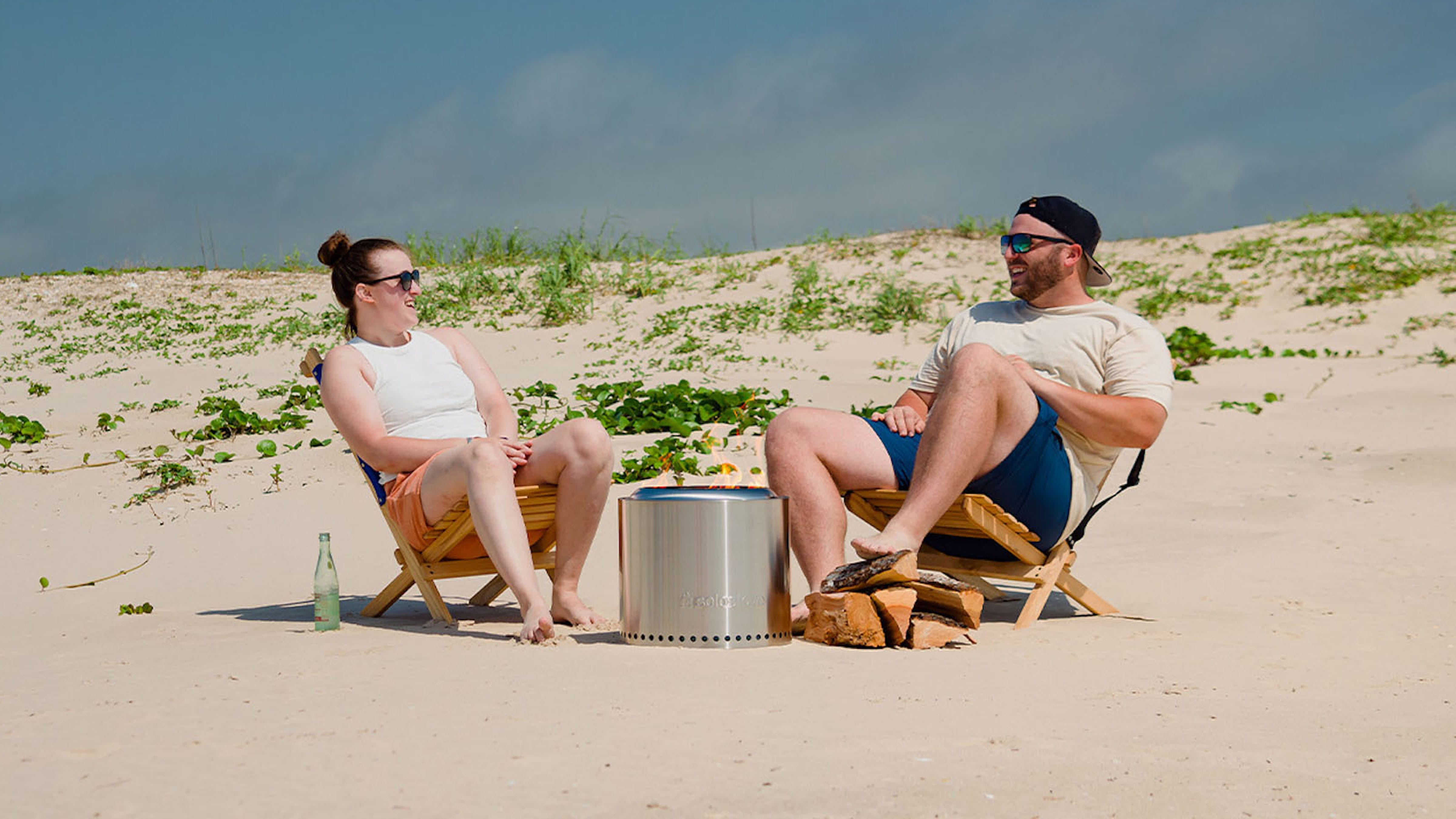The Solo Stove fire pit is one of our favorite pandemic purchases—and it's 25% off