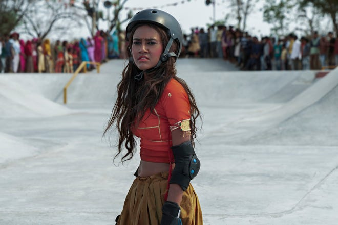 """Rachel Saanchita Gupta stars as a Indian teenager whose world opens up when she starts skateboarding in the coming-of-age drama """"Skater Girl."""""""