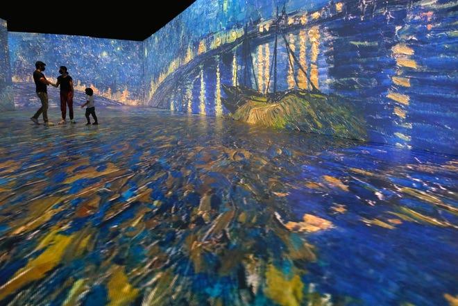 """The """"Beyond Van Gogh"""" exhibit's opening night has been postponed in Austin."""