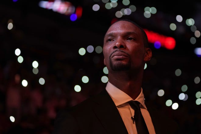"""Former NBA player Chris Bosh, a Texan who now lives in Austin, just wrote a book called """"Letters to a Young Athlete"""" that chronicles his love of basketball while giving advice through his experience with the game."""