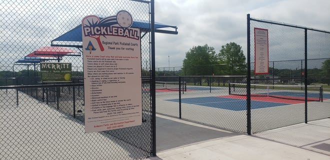 The Ardmore Pickleball Club will be hosting a free beginner's clinic at Regional Park on Saturday morning.
