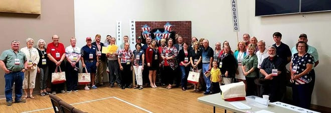 The Hampton County Republican Party recently hosted a portion of the SCGOP Convention in Varnville.