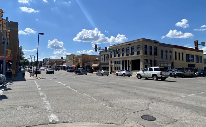 Downtown El Dorado on Main St where many local businesses can be found