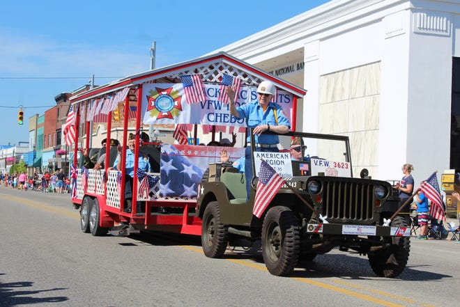 The annual Fourth of July Parade through downtown Cheboygan will be done on July 3 this year, to accommodate church services in the area, allowing as many people as possible to attend the parade.