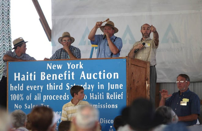 The New York State Haiti Benefit Auction is a highly anticipated annual event in Yates County. This year it will be held June 18-19 at the Finger Lakes Produce Auction on Route 14A south of Penn Yan.