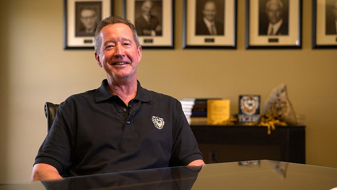 Curtis Longpine is the current chair of the FHSU Foundation's Board of Trustees.