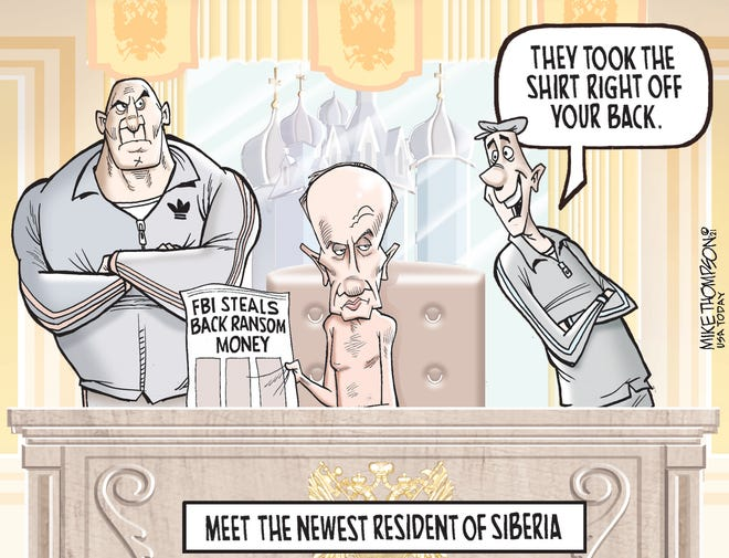 Today's editorial cartoon (June 11, 2021)