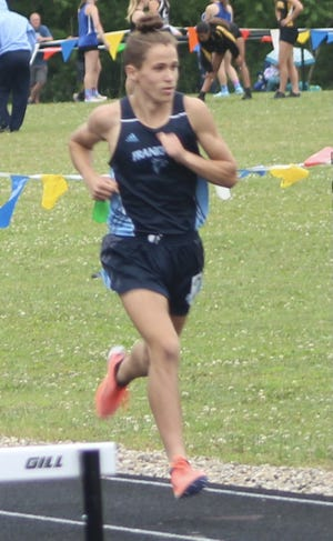 Frankfort's Garrett Ferguson is among the Mineral Countians projected to finish strong at the state track meet