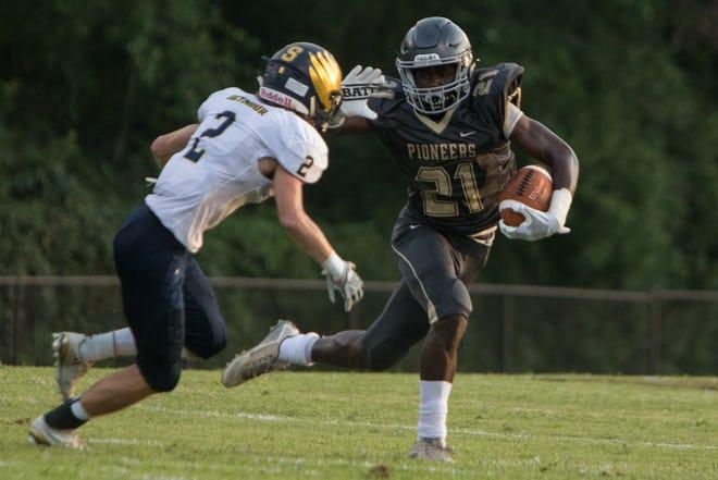 Jonesborough (Tenn.) David Crockett High linebacker Prince Kollie reports Friday to start his Notre Dame football career.