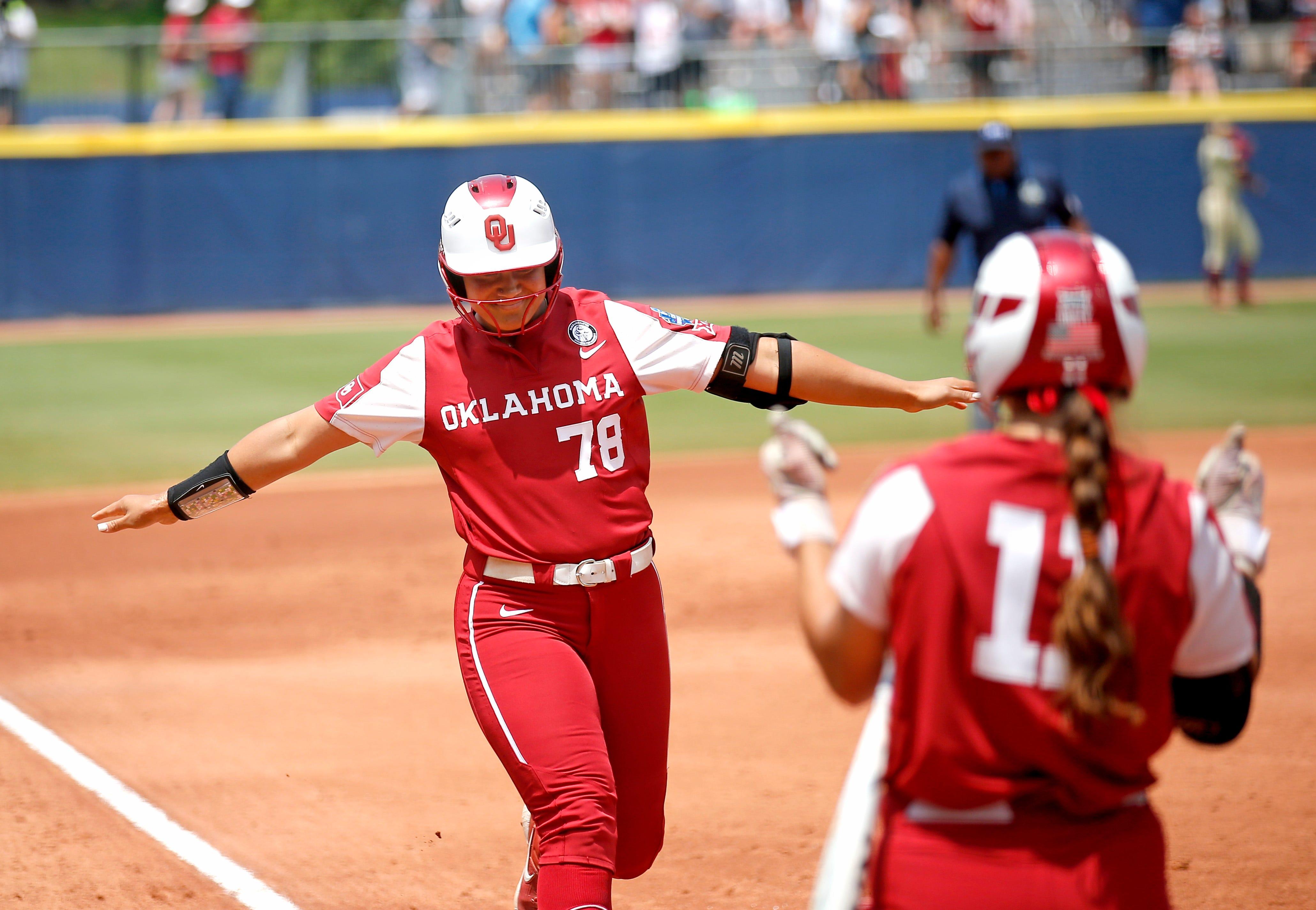 Oklahoma beats Florida State to win Women's College World Series championship