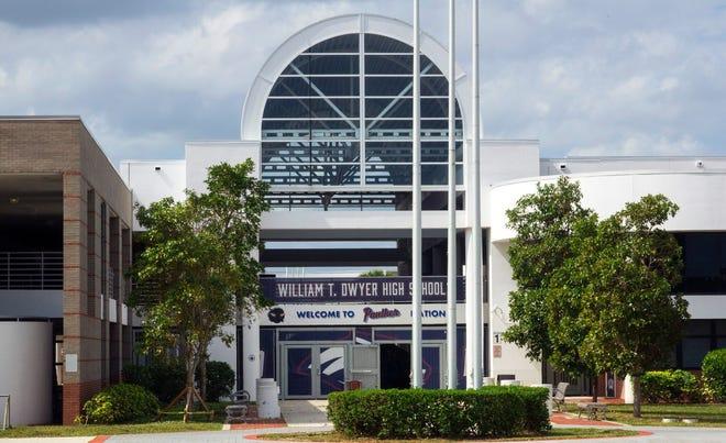 William T. Dwyer High School in Palm Beach Gardens Sunday, February 14, 2021.