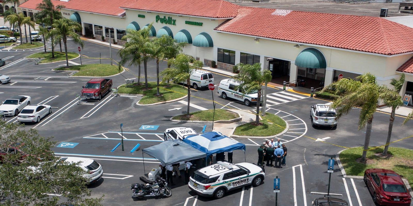 'They're shooting!': Gunman kills grandmother, toddler then self inside Royal Palm Publix - Palm Beach Post