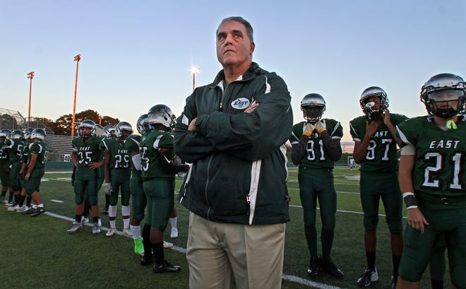 Cranston East football coach Tom Centore resigned his position Wednesday after coaching the Thunderbolts since 2003.