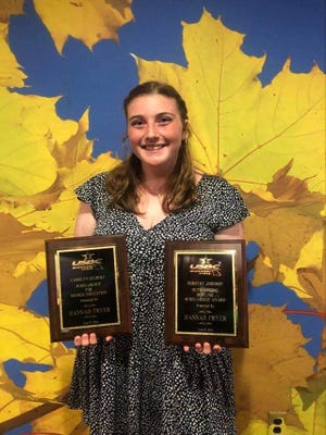 Rolla High School graduate Hannah Fryer received two scholarships from the Missouri State USBC Board.
