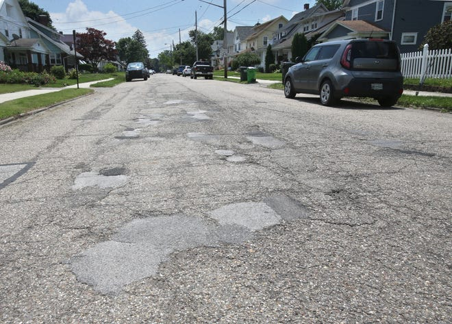 Alliance plans to grind and overlay this area of Arch Avenue between Milton Street and Mill Street as part of its paving plans for this summer.