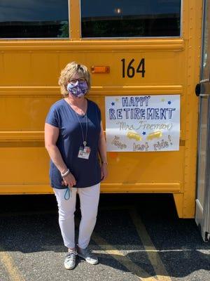 Karen Freeman retired last month after 34 years in education.