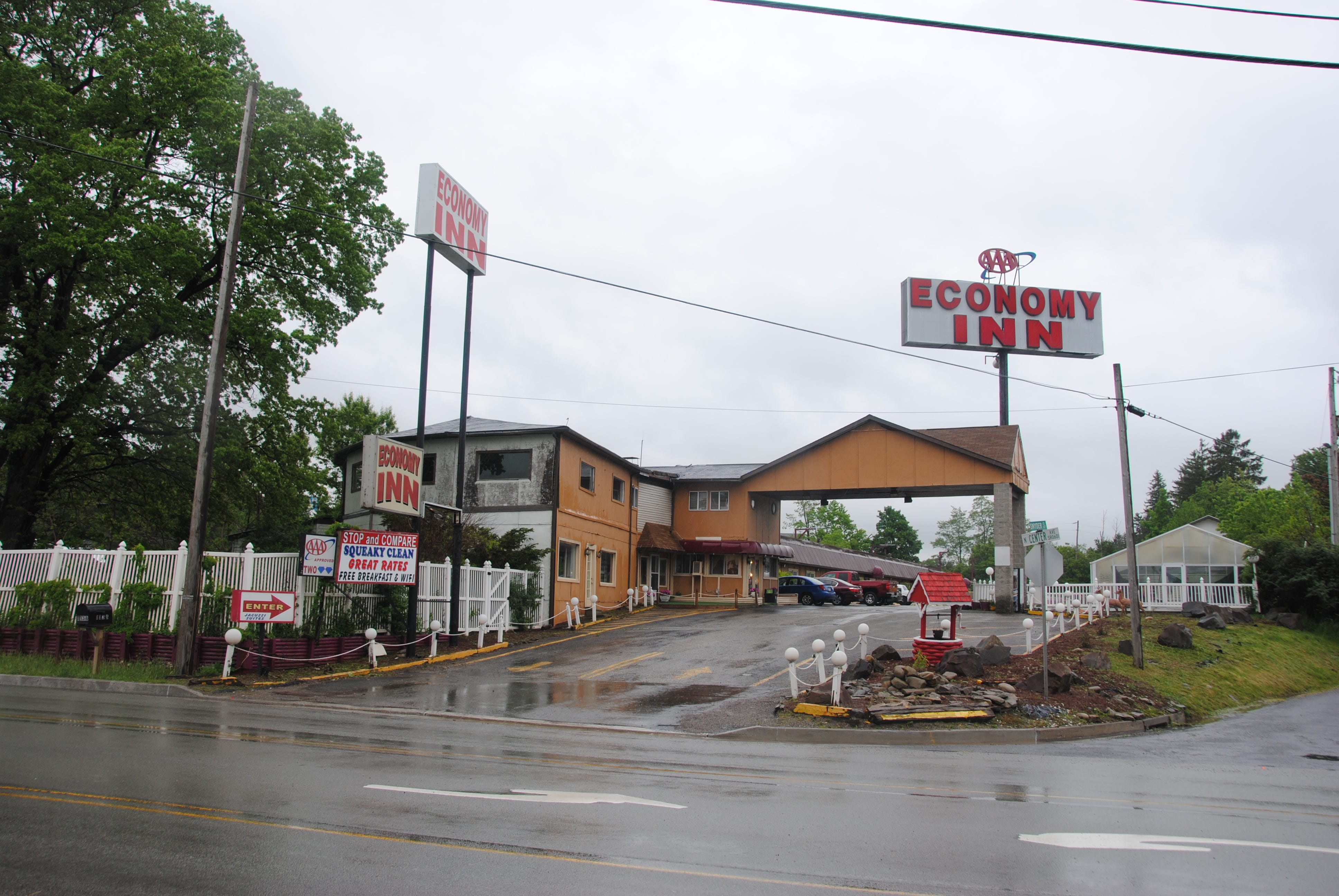 The Economy Inn at 1138 N. Center Avenue in Somerset is the home of the former Coleman Motel, where the Shuglie family had been staying when Janet and Marisa disappeared.