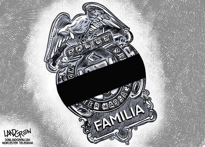 Don Landgren: RIP Worcester Police Officer Manny Familia
