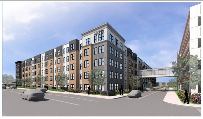 A Georgia-based developer plans to build 371 units of market-rate housing on the former Our Lady of Mount Carmel site on Mulberry Street.