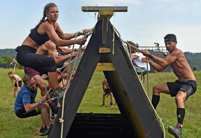 The Barbarian Challenge, seen here in the 2019 edition, is returning this year after being canceled last year because of the coronavirus pandemic.