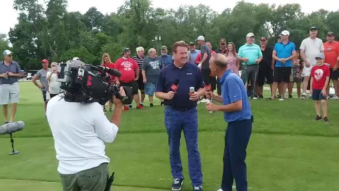 Jimmy Hanlin and Tony Rizzo close out the Pin Shot TV program from Five Waters Golf Course Thursday.