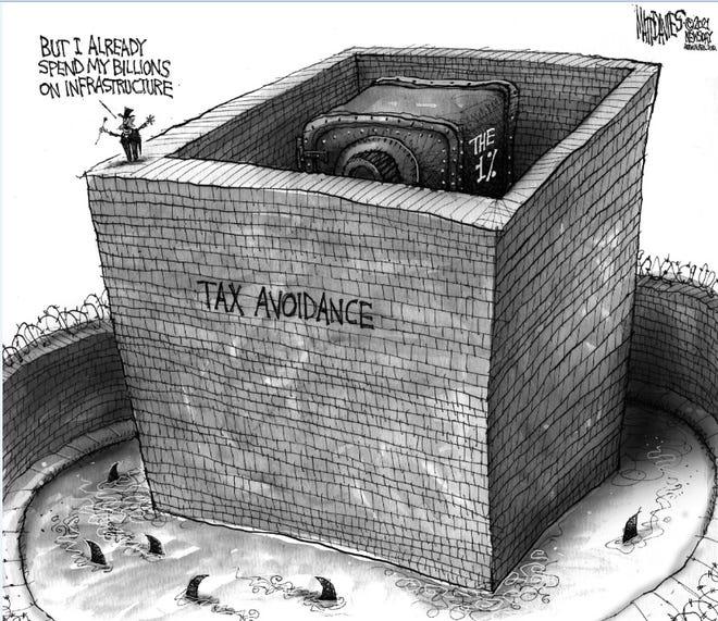 Political cartoon for June 12, 2021