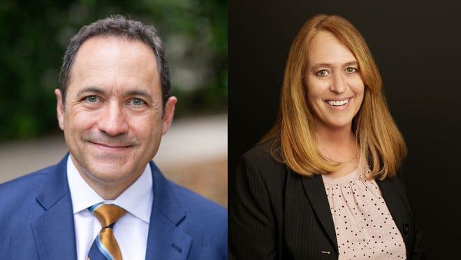 Left, Timothy O'Shea. Right, Margaret Vellar.