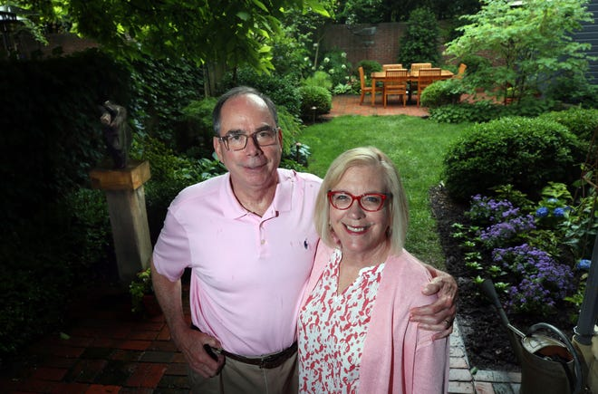 Bill and Jane Forbes' garden will be one of 12 sites that will be part of the German Village Society and German Village Garten Club's GartenTour on June 26.