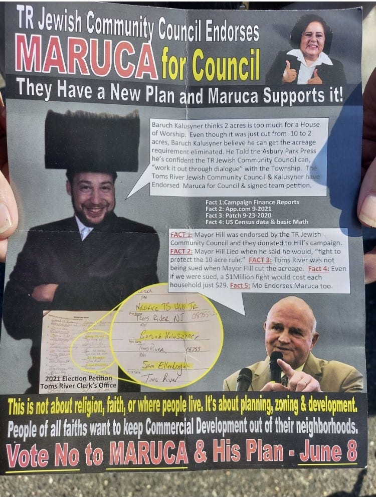 """Toms River Councilman Terrance Turnbach bashes """"disgusting"""" campaign flier"""