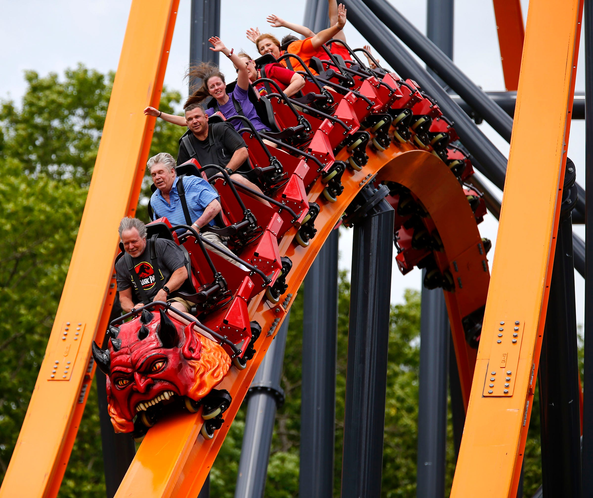 Six Flags Great Adventure Jersey Devil Coaster Opens This Weekend