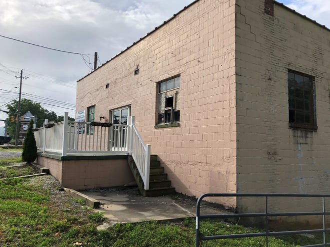 This former auction house at 31 Fanning Bridge Road in Fletcher is being transformed into a brewpub/restaurant.