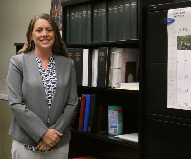 Rebecca Van Hesteren has taken over duties as Bucyrus City Council clerk.