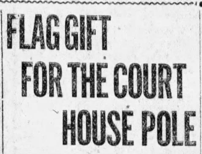 A clipping from the Chillicothe Gazette.