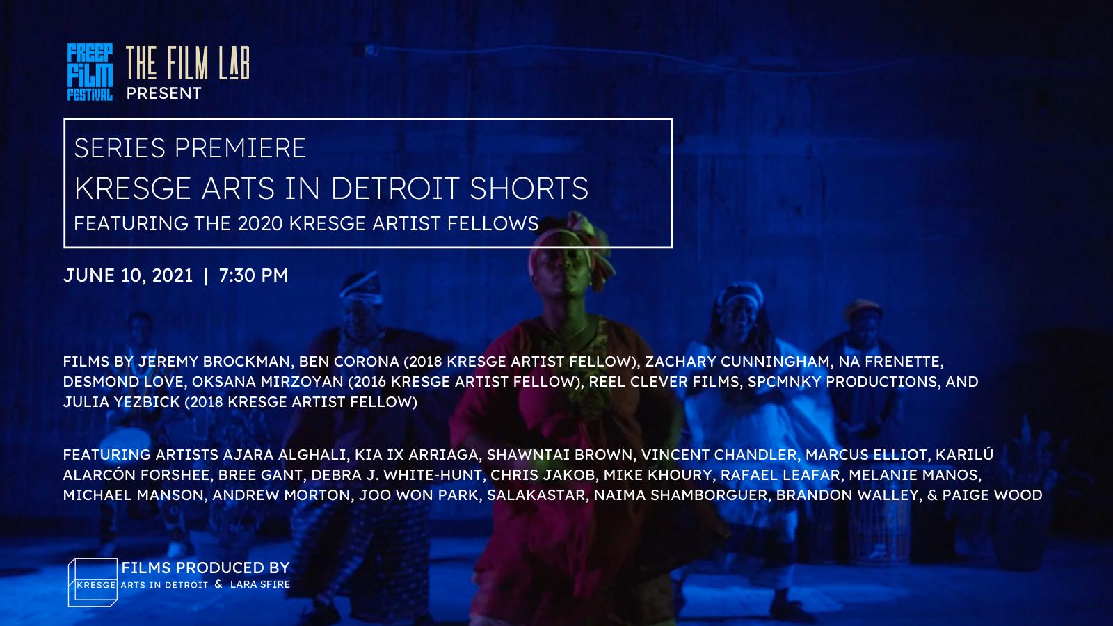 Kresge Arts  short films premiere features some of Detroit s top artists